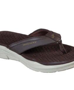 Skechers heren slippers Equaliser 4.0-SERASA bruin