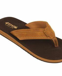 Heren slippers Cloud brown Cool Shoe