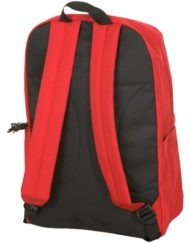 Hurley Block Party Backpack-red-back