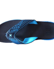 Hurley slippers-cyan_top