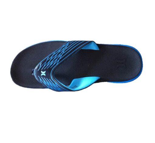 Hurley slippers-cyan_top