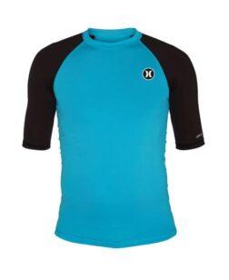 Lycra shirt blauw Hurley