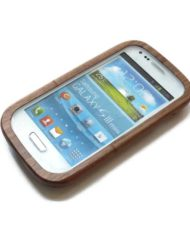 Samsung S3 mini houtje hoesjes bamboe1