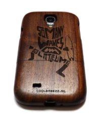 Samsung S4 houten hoesjes