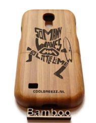 Samsung S4 mini houten telefoon hoesjes