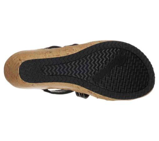 Skechers Beverlee Tiger Posse dames slippers 31714_BLK_B (2)