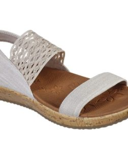 Skechers Brie Most wanted dames slippers creme wit