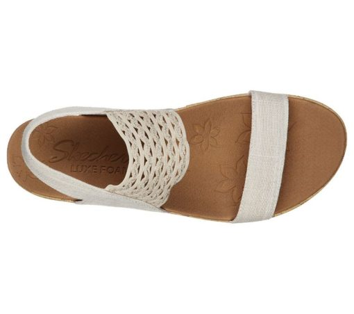 Skechers Brie Most wanted dames slippers 119013_NUDE (2)