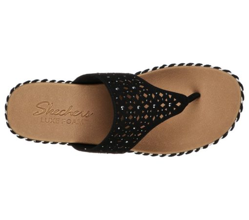 Skechers Sepulveda Larkspur slippers zwart41236_BLK_C (1)