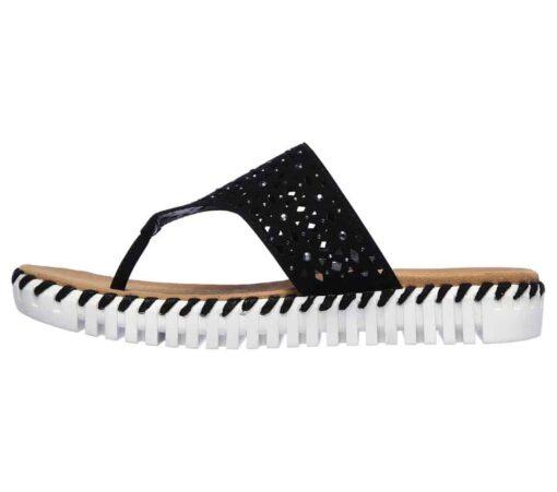Skechers Sepulveda Larkspur slippers zwart41236_BLK_C (3)