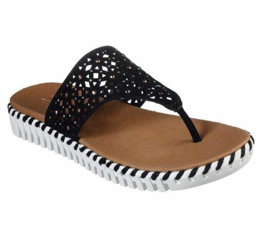 Skechers Sepulveda Larkspur slippers zwart41236_BLK_C (4)