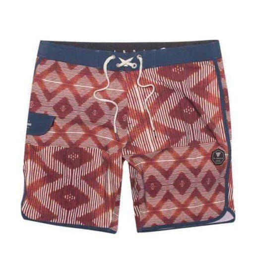 Vissla-zwembroek sumbawa rood