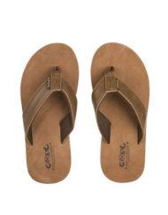 bruine slippers Coolshoe