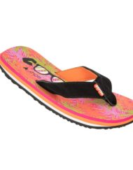 dames slipper coolshoe eve slight palm oranje