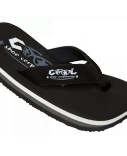 Coolshoe heren slipper zwart