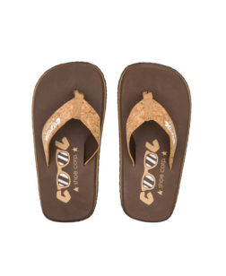 Coolshoe Original Slippers Chestnut Cork
