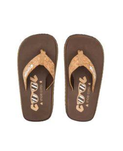Coolshoe Original Slippers Chestnut Cork