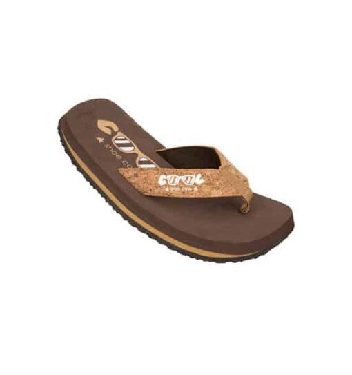 coolshoe slippers original chestnut cork