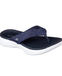 Dames slippers Skechers On the go 600 blauw