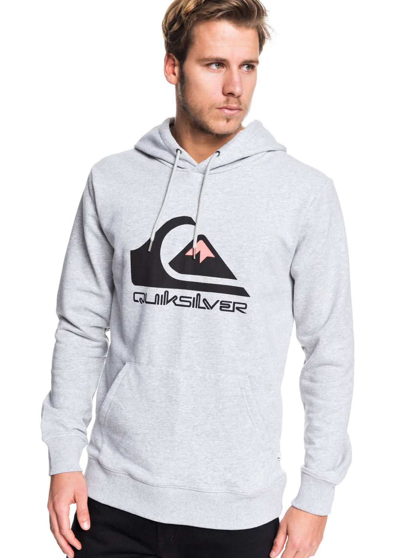 eqyft04025_Hoodie quiksilver fleece grey