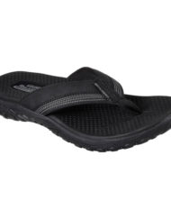 heren slippers skechers zwart 65460