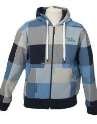 winter vest blauw