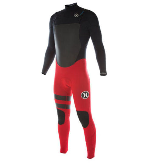 Hurley wetsuit rood