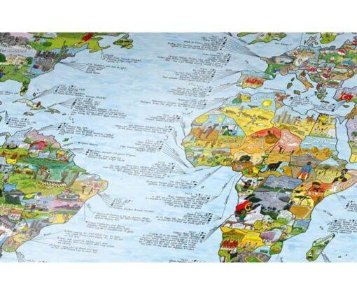kaart met jouw wensen