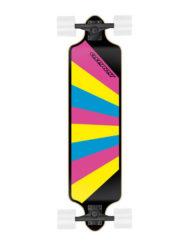 longboard voor beginners-downhill Rainbow-TY5507