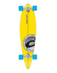 longboard voor beginners-stripe-geel