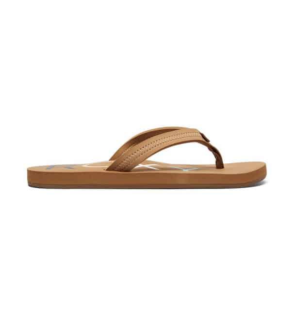 quiksilver slippers dames bruin2