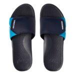 quiksilver slippers heren shoreline blauw2
