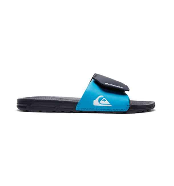 quiksilver slippers heren shoreline blauw3