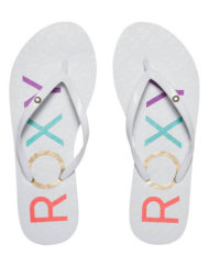 Roxy dames slippers Sandy wit
