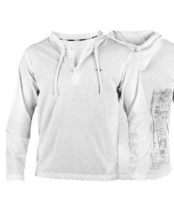witte shirt met lange mouwen