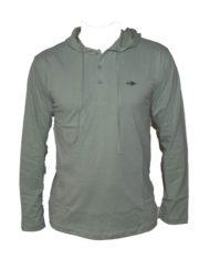 Groene shirt met lange mouwen