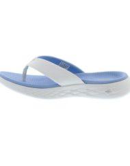 skechers dames slippers go 600 blauw 2