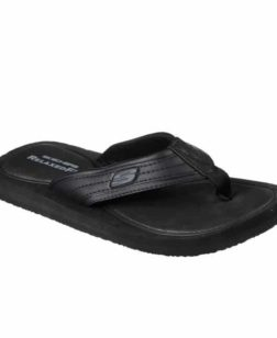 slippers zwart tocker