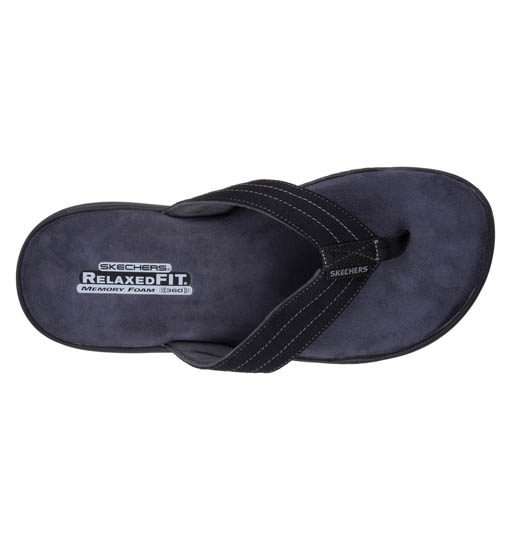 slippers black 2