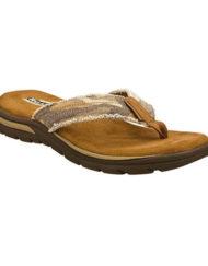 slippers bruin natural skechers