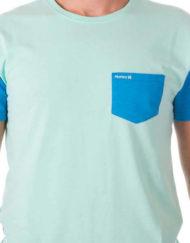 t-shirt heren Hurley pocket