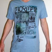 t shirt met opdruk print Mormaii