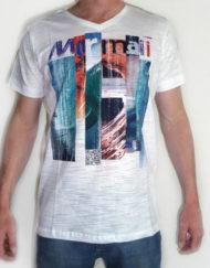 t shirt wit met opdruk