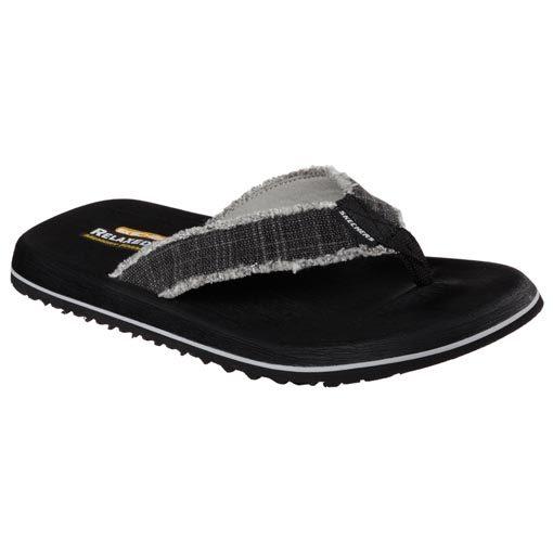 heren slippers zwart