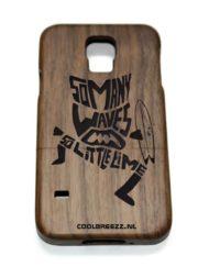 telefoonhoes Samsung, houten telefoonhoes_Samsung Galaxy S5