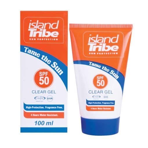 zonnebrand Island Tribe-clear gel 100ml