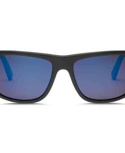 zonnebril zwart blauw