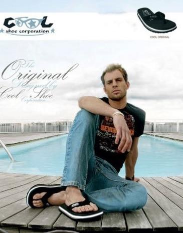 zwarte originals heren slippers model